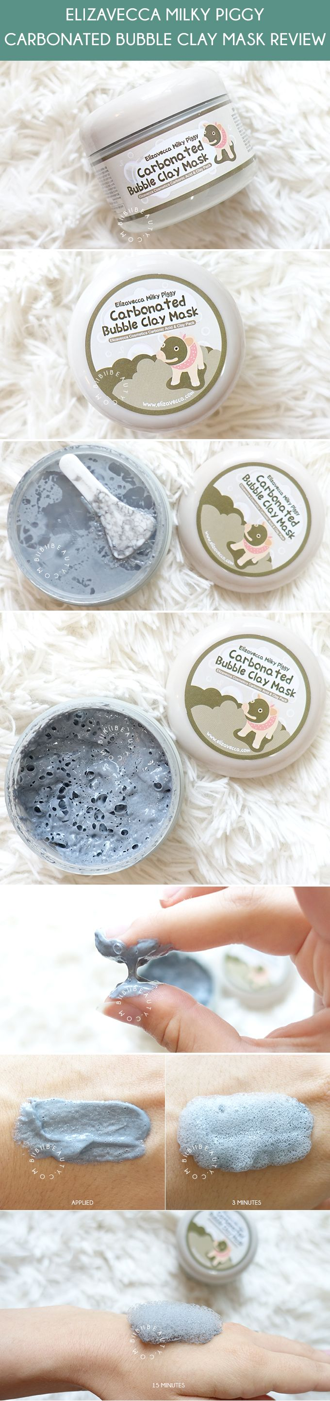In-depth review on the popular bubble clay mask from Korea! See my first impression video plus find out if it is really worth the bubble clay mask hype! CLICK TO SEE >> http://www.biibiibeauty.com/elizavecca-milky-piggy-carbonated-bubble-clay-mask-review/ #korea #korean #review #skincare #claymask #bubblemask #bubbleclaymask #mask #trends