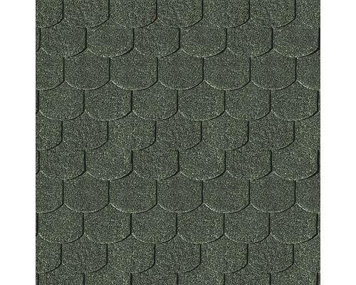 Dachschindeln Karibu Biberschwanz 3 m², dunkelgrün