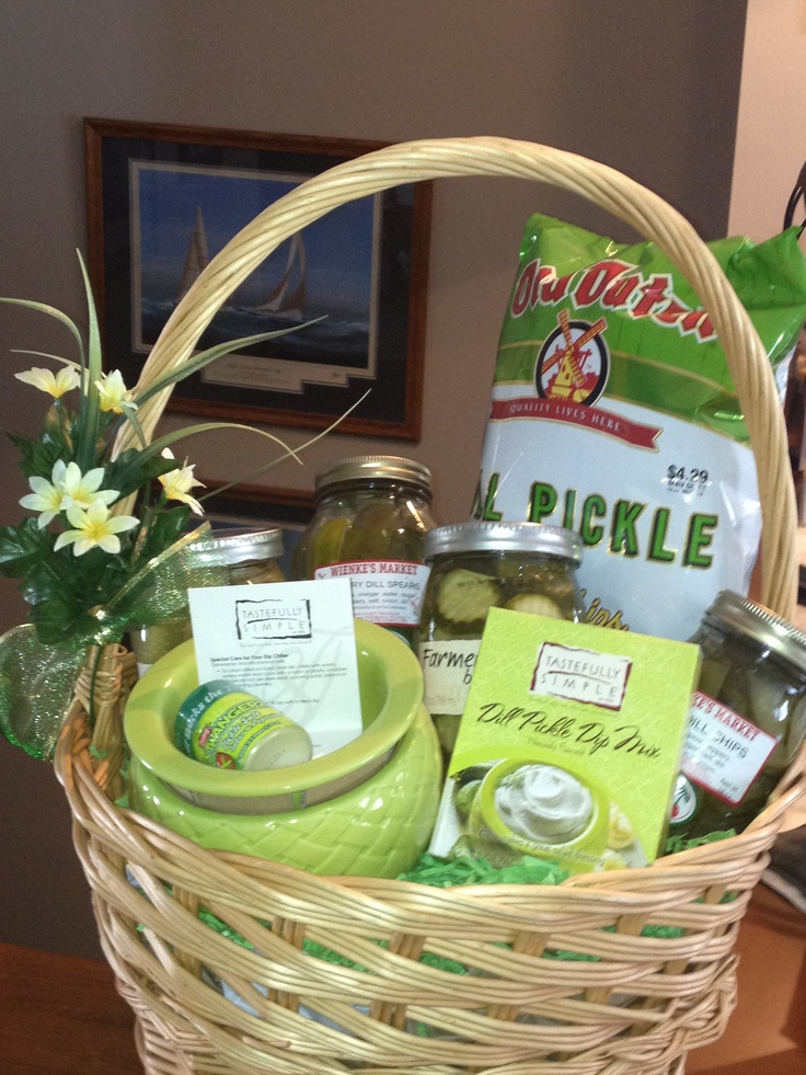 When In A Pickle Eat A Pickle Wep 2013 Gift Basket