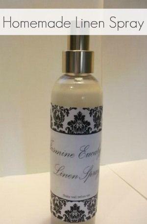 Twelve Weeks of Christmas, Week 9: Homemade Linen Spray (Febreze alternative) | The Ginger Penny Pincher