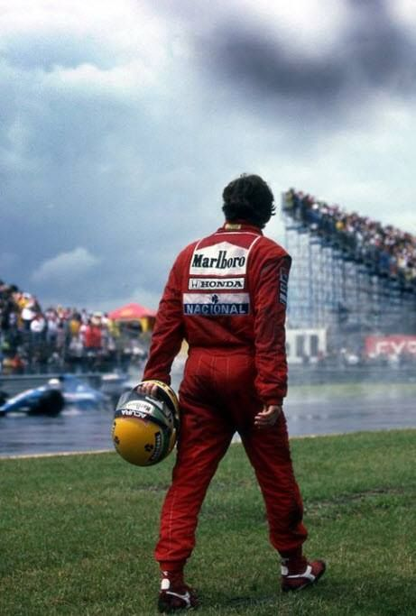 """""""He might have been the greatest driver of all time. There was not a weakness in Ayrton Senna."""""""