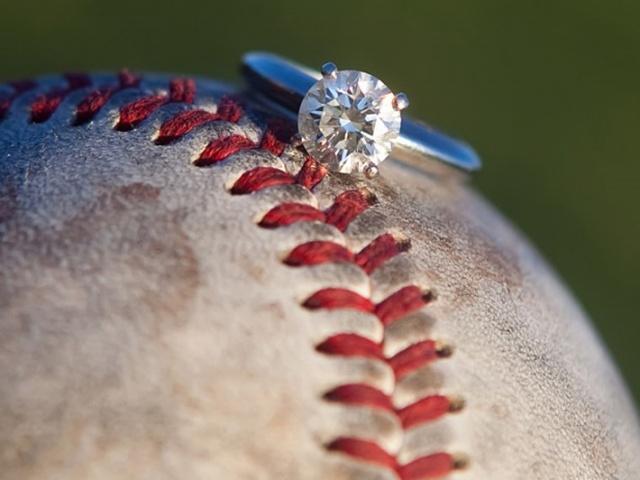 Engagement Ring With Baseball Future Wedding Pinterest