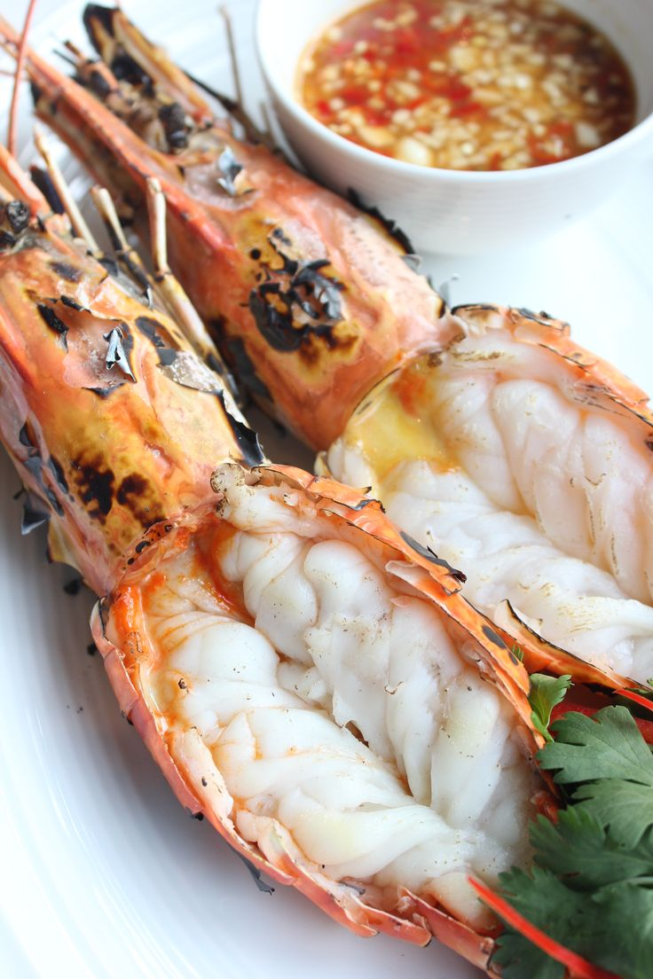Grilled prawn red pepper amazing thai cuisine for Amazing thai cuisine