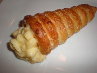 Italian Cream Horns - strawberry whipped cream!