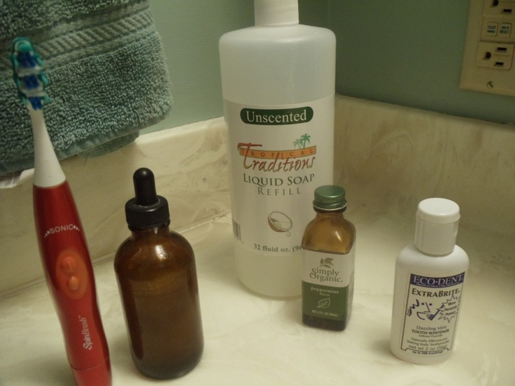 toothsoap - I actually use this.  It makes my teeth feel slick and clean all day long!