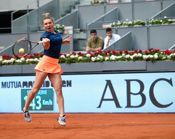 Via Mutua Madrid Open 2017: Simona Halep is on   #MMOPEN  WTA