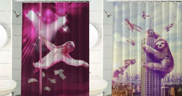 566 best shut up and take my money images on pinterest for Sloth kong shower curtain