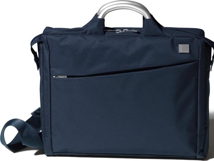 Fransız tasarım markası Lexon'dan lacivert Evrak/Laptop Çantası, Airline Document Bag Storm by Promart-Promotion