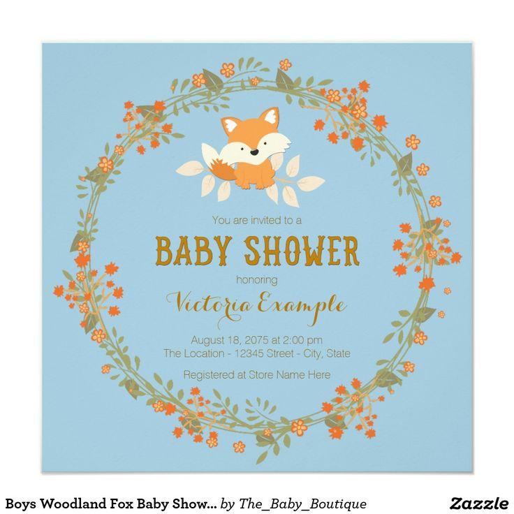 97 best woodland baby shower invitations ideas images on pinterest, Baby shower invitations