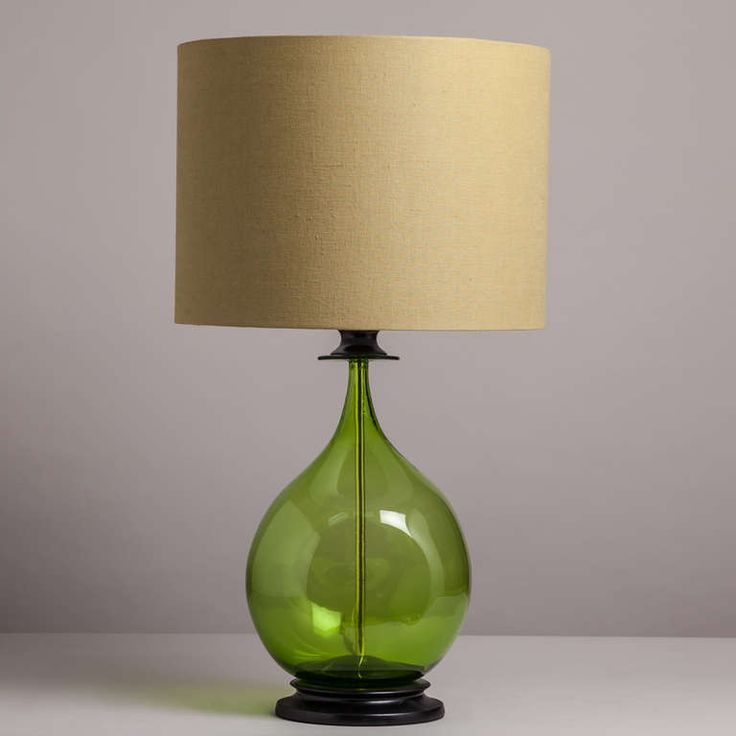 how to choose glass table lamps for your home light decorating ideas