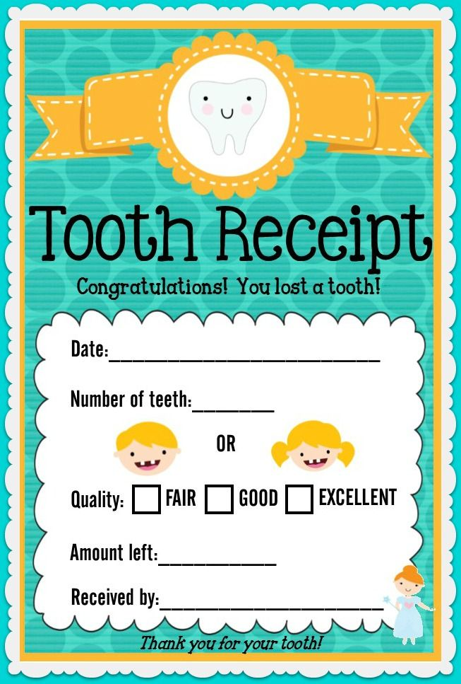 The 25+ best Tooth fairy receipt ideas on Pinterest Tooth fairy - free printable receipts