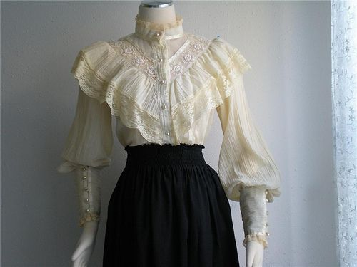 Flickriver: Photoset 'Gunne Sax Blouses Dresses Gowns' by mondas66