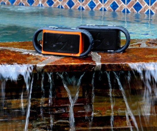 Ecoxbt: o alto falante que pode ser usado na água