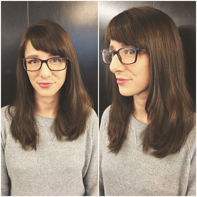 Kendra is a teacher and an adventurer. We added some texture and long layers this morning. Thanks, Kendra! #avedapdx