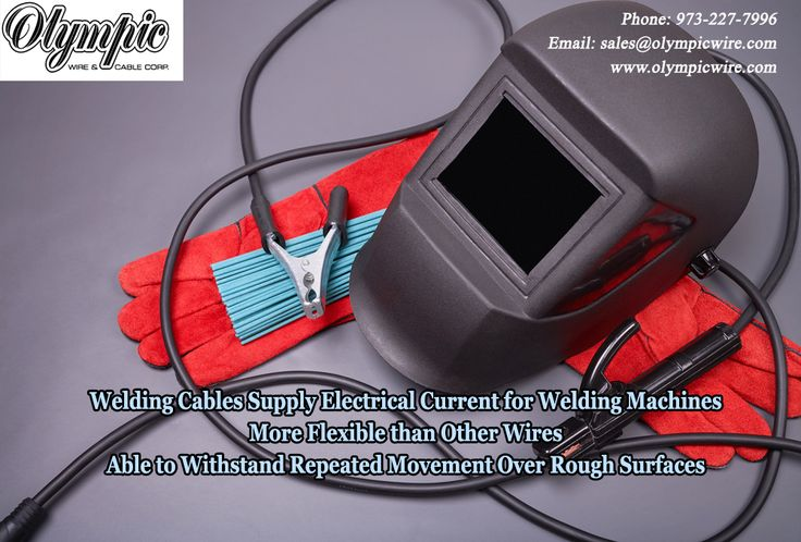 Welding Cables Supply Electrical Current for Welding Machines More Flexible than Other Wires Able to Withstand Repeated Movement Over Rough Surfaces