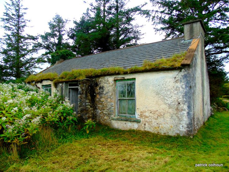 Abandoned Cottage Inishowen County Donegal Rapiditas