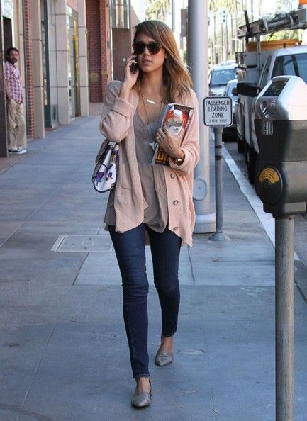 'Sin City: A Dame to Kill For' actress Jessica Alba gets pampered at a nail salon on Beverly Hills, California on October 5, 2013.