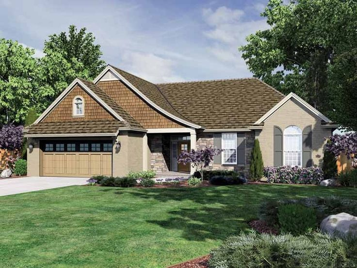 25 best ideas about one level homes on pinterest ranch one story house plans with garage amp one level homes with