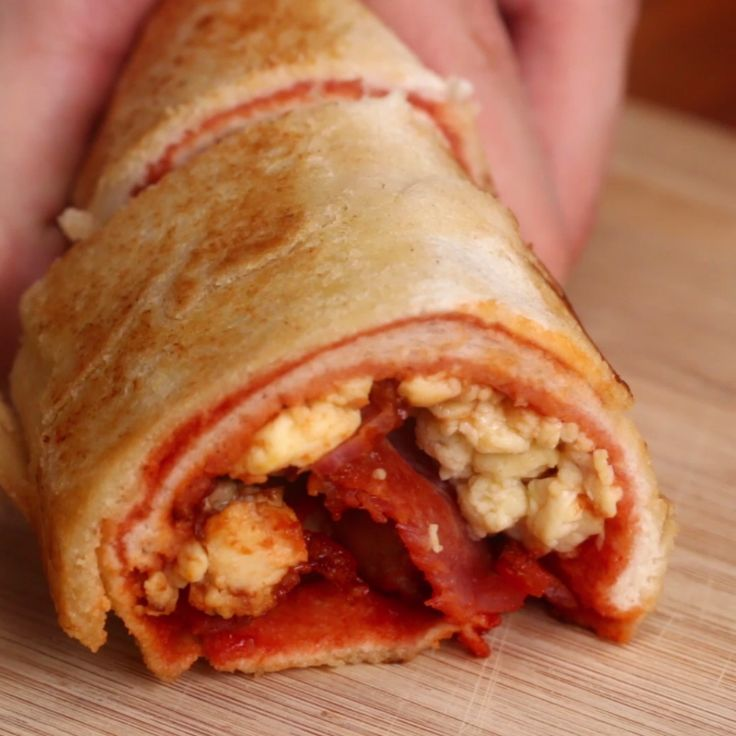 Breakfast Sandwich Roll Up
