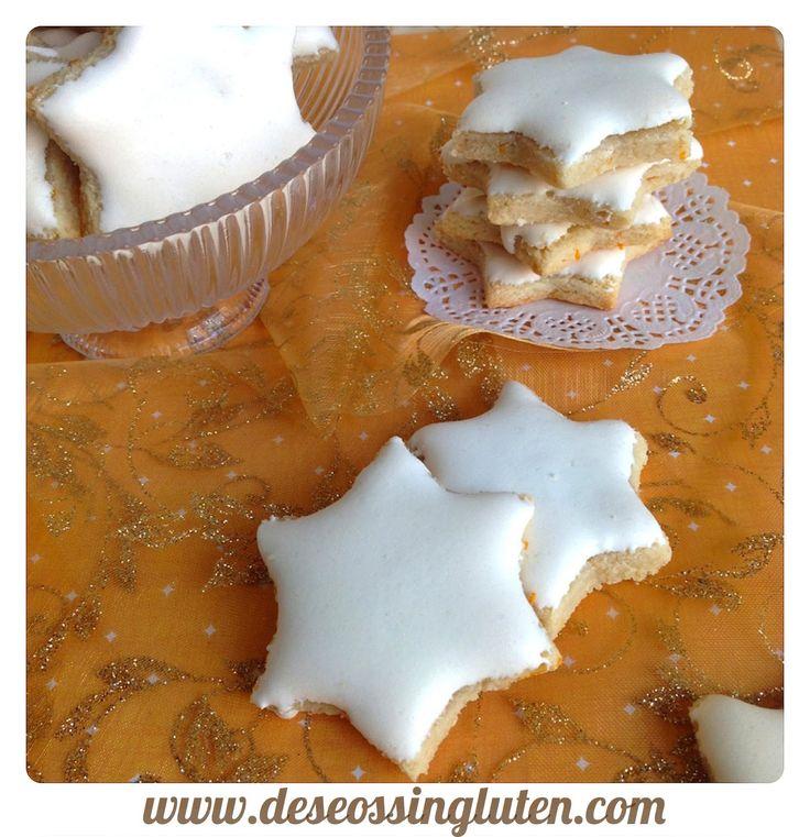 Deseos Sin Gluten: GALLETAS DE NARANJA GLASEADAS SIN LÁCTEOS Y SIN GLUTEN