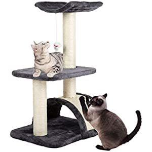 dibea Árbol rascador árbol para escalar árbol rascador para gatos Altura 85 cm Gris claro: Amazon.es: Productos para mascotas Amazon, Gatos, Scratching Post, Pet Products, Amazons, Riding Habit