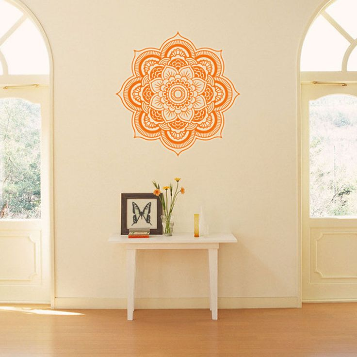 M s de 25 ideas fant sticas sobre mandala indio en for Vinilos pared mandalas
