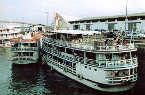 Santarémin satamassa virtaa mahtava Amazon. Lue lisää: http://plaza.fi/matkalaukku/etela-amerikka-ja-karibia/brasilia/santarem/santaremin-satamassa-virtaa-mahtava-amazon