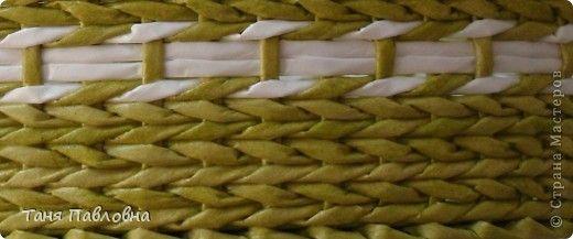 Поделка изделие Плетение Плетеночка в подарок Бумага газетная Трубочки бумажные фото 5