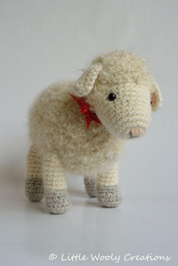 Haakpatroon Cora het schaap schapen / door LittleWoolyCreations