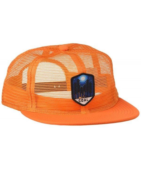 8c80f5169df98 Men s the Orin Full Mesh Trucker Hat Adjustable Snapback Cap Orange  CJ12I43K79F in 2019