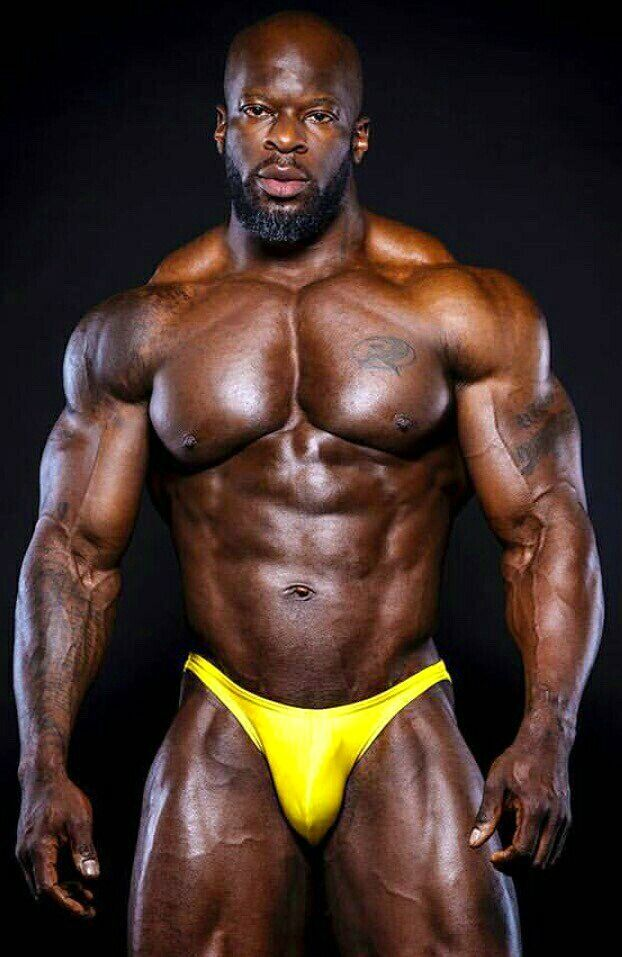Beefy black men