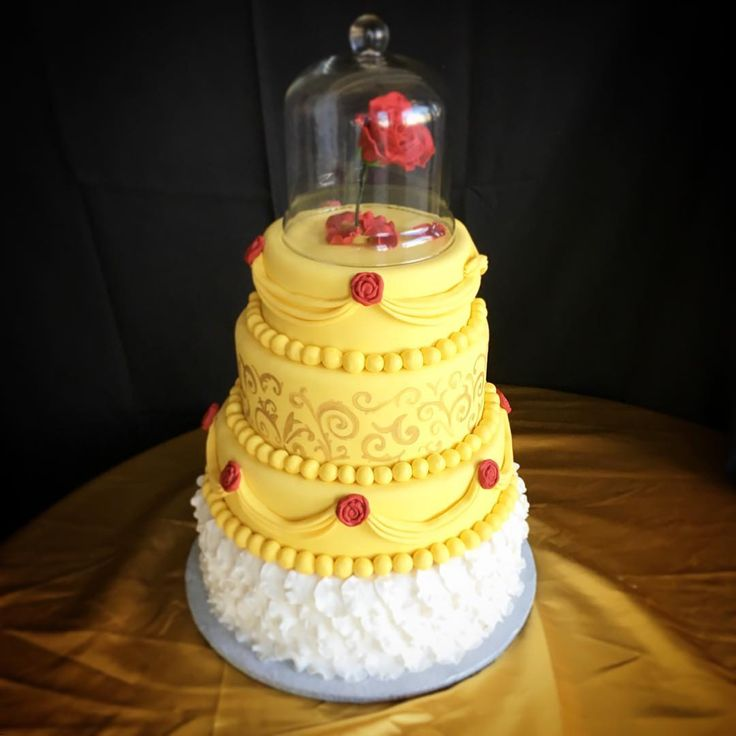 Disney Cake Designs : Best 25+ Belle cake ideas on Pinterest Belle birthday ...