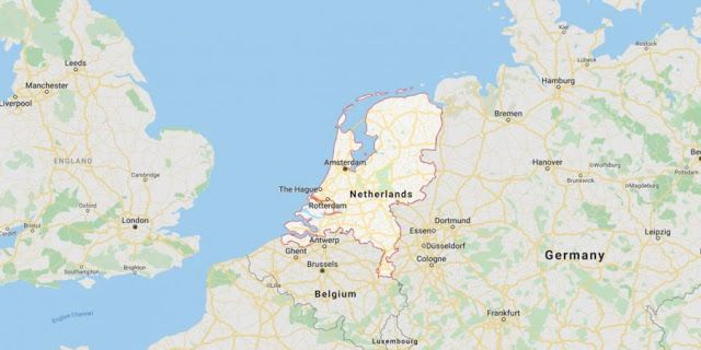 هولندا تنهي وجودها على الخرائط رسميا وتغير اسمها In 2020 World World Map Map