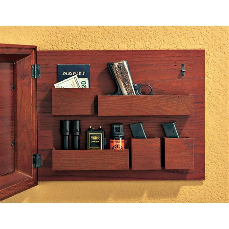 Large Hide - A - Gun Picture Frame, Dark Oak Finish - 131711, Shooting Accessories at Sportsman's Guide