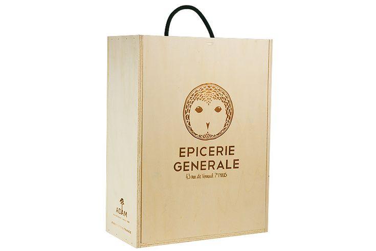 Produits : caisse et coffret bois - plv bois - emballage packaging