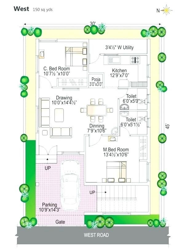 West Facing House Feng Shui Northwest Facing Front Door House Plan