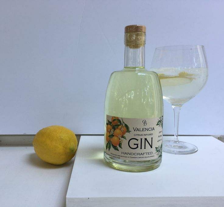 The Old Packhouse Distillery Valencia citrus infused Gin