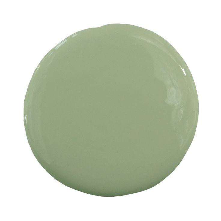 Sage green ics 9 4 interior color sample pure home for Sage green interior paint