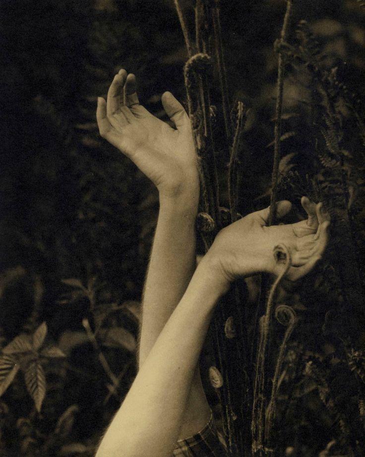 "whirlingatoms: "" Edward Steichen, Dana's hands, c.1923. """