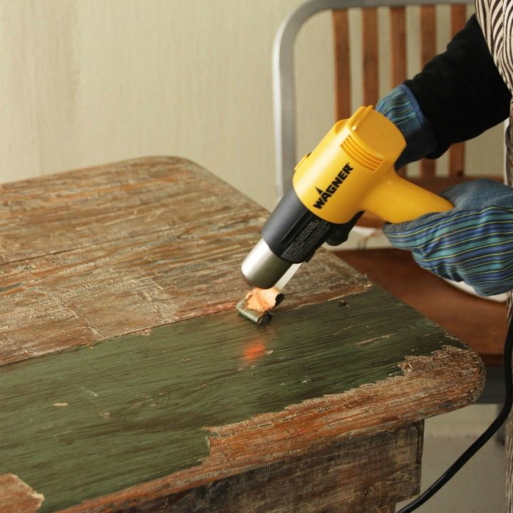 Strip Paint From Furniture Without Chemicals Stripping Paint Wagner Paint Sprayer Easy Diy Projects
