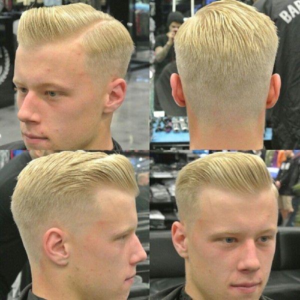 Slicked Blond