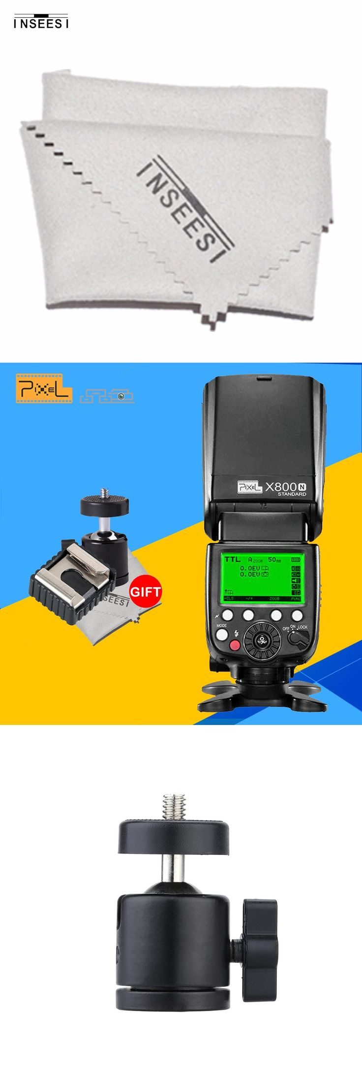 PIXEL X800N Standard Wireless TTL 1/8000s HSS Flash Speedlight For Nikon D7100 D5200 D90 DSLR Camera vs YONGNUO YN568EX YN-565EX