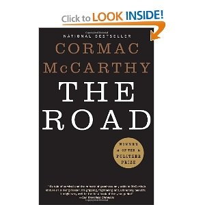 The Road - Cormac McCarthy    Just finished this.  While it was good, and handedly post-apocalyptic, I found it to be wholely anticlimactic, which saddened me.  I wanted there to be more, but there wasn't, and it left me feeling underwhelmed.     2.5 stars