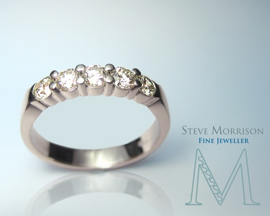 For #engagement and #wedding bands or simply for something uniquely made.  See Steve Morrison, Fine Jeweller.
