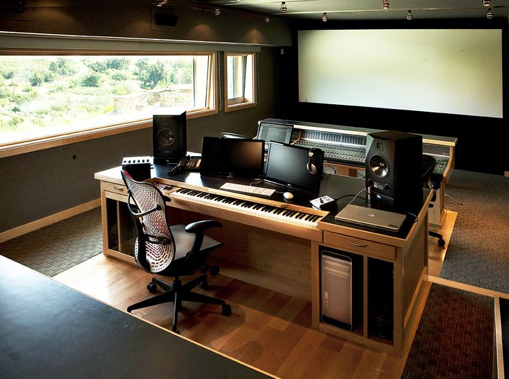 home studio desk design. Control room of studio won t be as big  but I like the outside The 25 best Recording desk ideas on Pinterest Studio