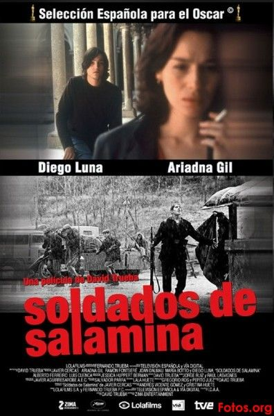 """Soldados de Salamina (Soldiers of Salamina) (2003) by David Trueba // A film that dealt with the theme of war but managed to pull of a one of a kind film dealing with this theme. It amazed me with how great the screenplay was. It gave justice to the whole """"writer making novels"""" plot. I must say that the director managed to create a stunning film with different timelines flawlessly. The film was conversation-heavy but that's the thing that made this film successful. An intelligent film!"""