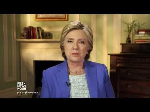 Short-Term Memory: Hillary Forgets Four Americans Died in Benghazi | Truth Revolt | Published on Jun 8, 2016 Presumptive Democractic presidential nominee Hillary Clinton spoke with Judy Woodruff on Wednesday, where she discussed the decisions of the Obama administration on Libya.| She is ROT-ton to the core. Lies with a straight face.