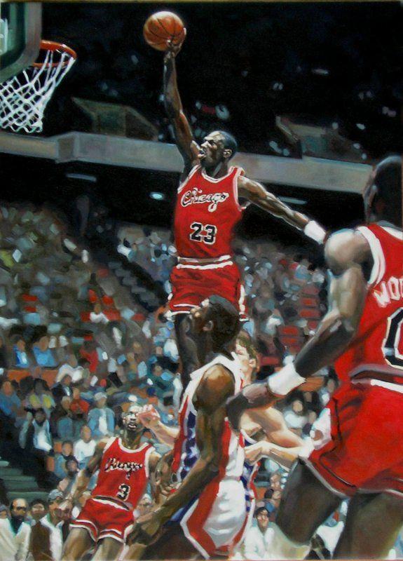 """Michael Jordan"" - Nicolas Curmer"