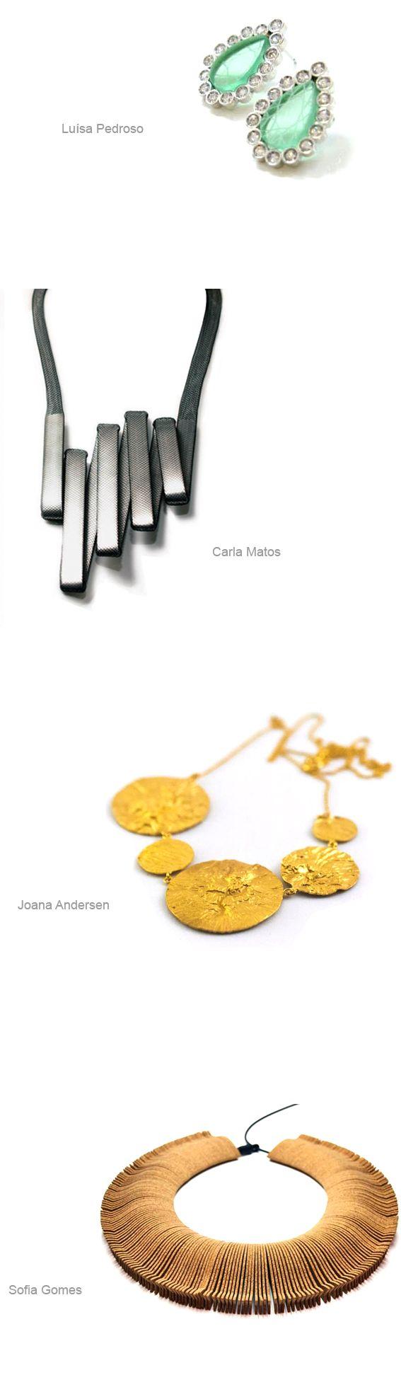 AORP – Portugal La Asociación de Joyería y Relojería de Portugal, estará representada en Joya Barcelona 2013 por Joana Andersen, Sofia Gomes, Luísa Pedroso y Carla Matos.