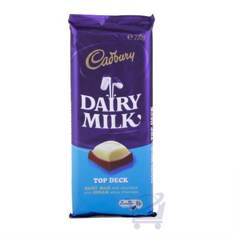 Dairy Milk Top Deck Chocolate  – Cadbury 220g | Shop Australia